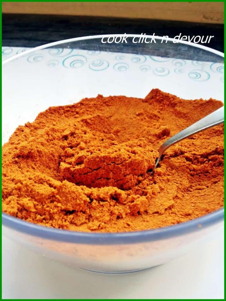 Sambar Powder (Tambrahm style)