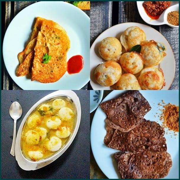 10 easy Indian breakfast recipes | 10 tasty and healthy Indian breakfast recipes | List of 10 Indian breakfast recipes