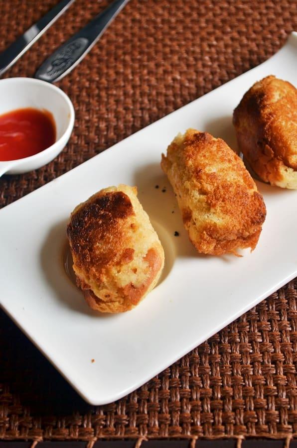 Bread rolls recipe,how to make bread rolls | Potato stuffed bread rolls recipe