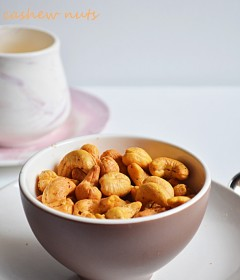 oven roasted cashews recipe