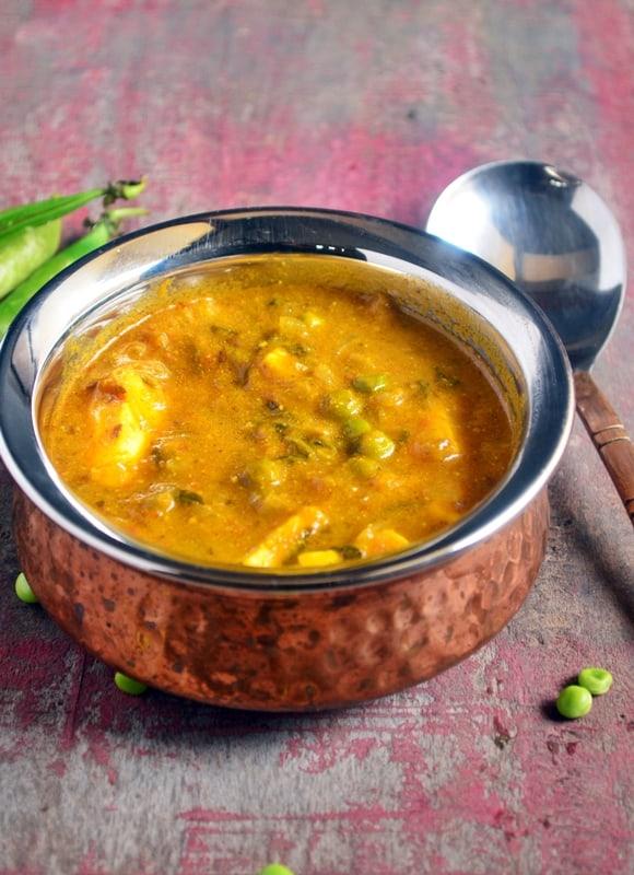 Methi mattar paneer recipe| Restaurant style side dish recipe