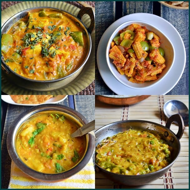 10 easy side dish recipes- chapathi, roti, fried rice | Side dish recipes collection