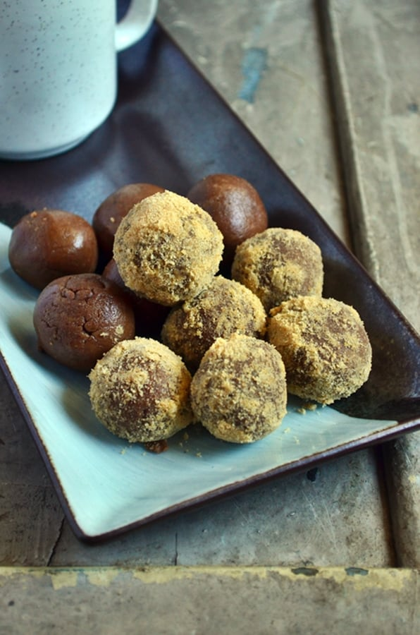 Easy chocolate biscuit balls recipe