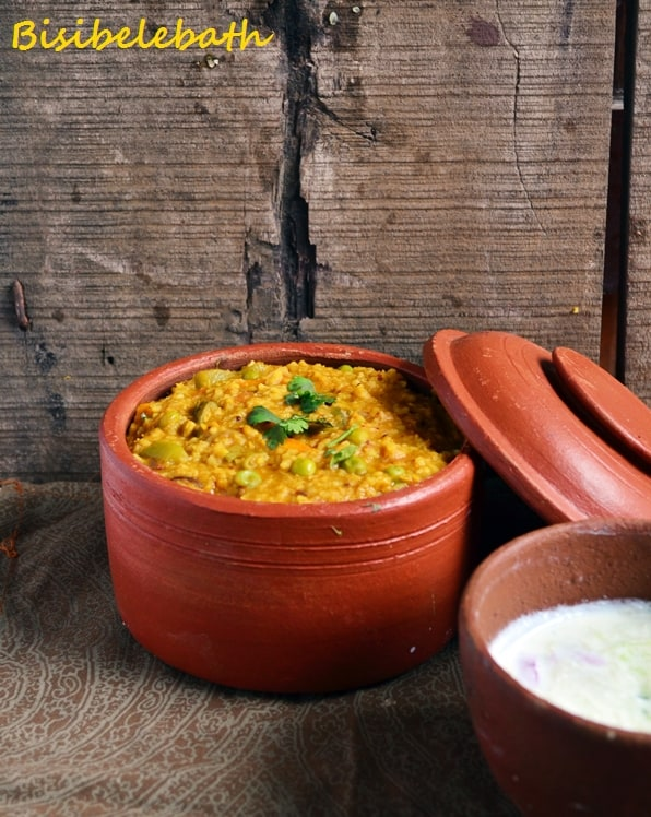 Bisibelebath recipe| Sambar sadham recipe