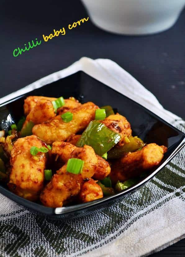 Crispy chilli baby corn recipe | Easy baby corn recipes