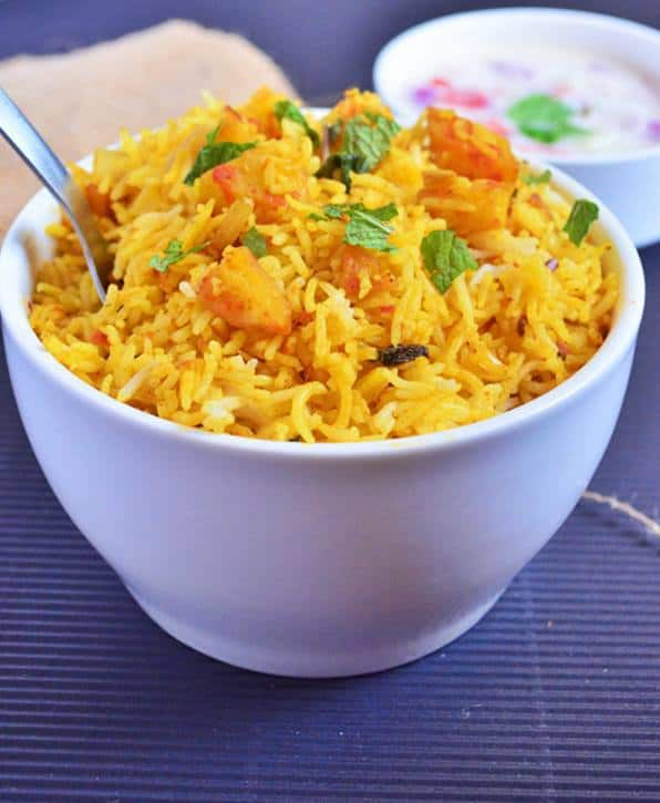 Potato pulao recipe,easy way | how to make potato pulao recipe