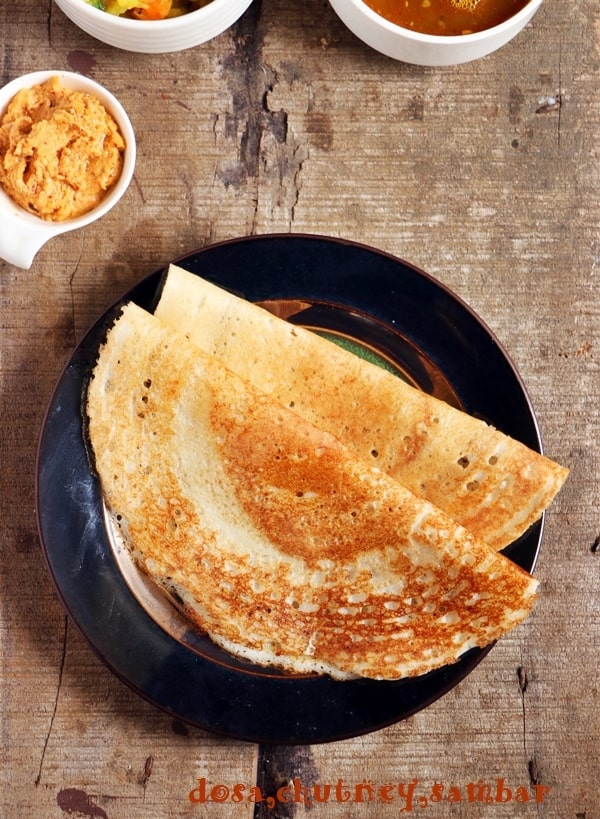Dosa recipe, How to make dosa batter in mixie | Crisp dosa recipe