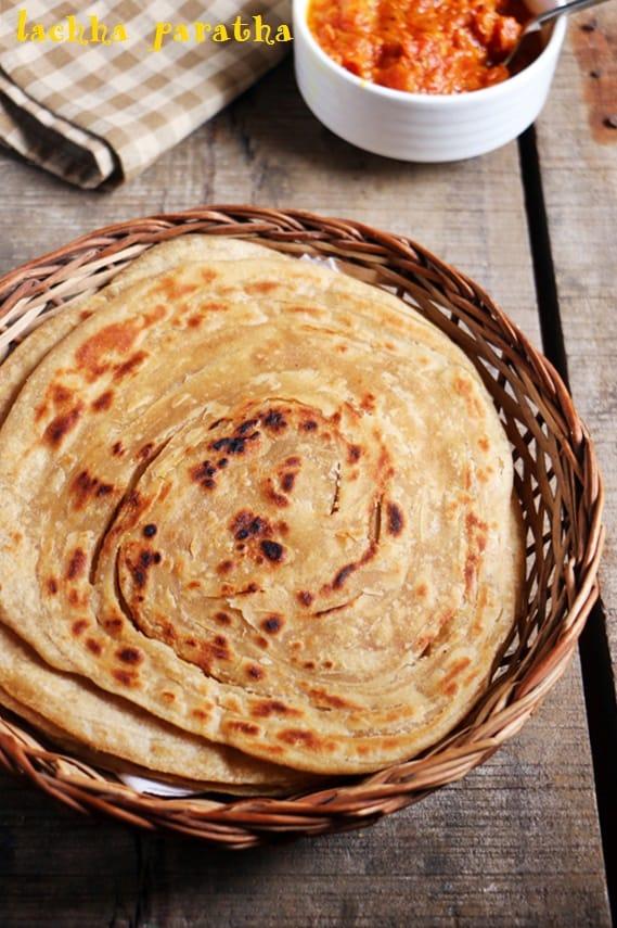 Lachha paratha recipe, how to make lacha paratha recipe