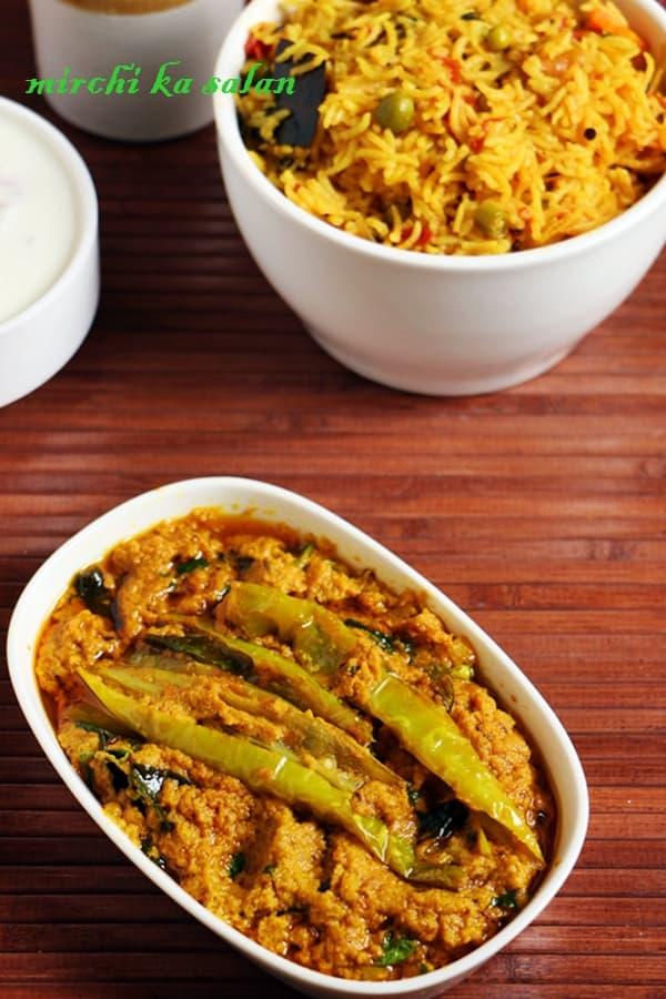 Mirchi ka salan recipe | How to make mirchi ka salan