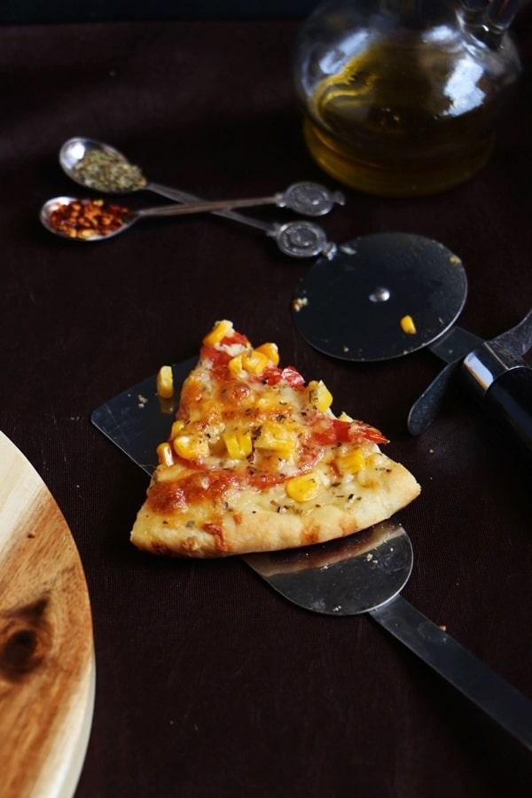 Tomato pizza recipe   Cheese tomato pizza recipe