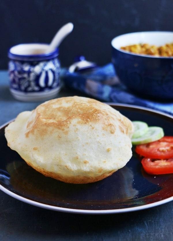 Bhatura recipe | How to make bhatura