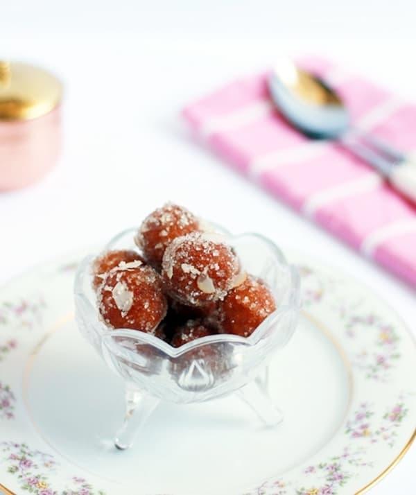 Bread gulab jamun recipe | Diwali 2015 sweets recipes