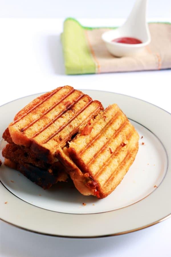 Paneer sandwich recipe | Easy paneer recipes