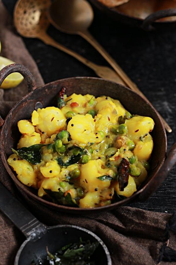 Potato masala curry recipe   Potato masala for poori