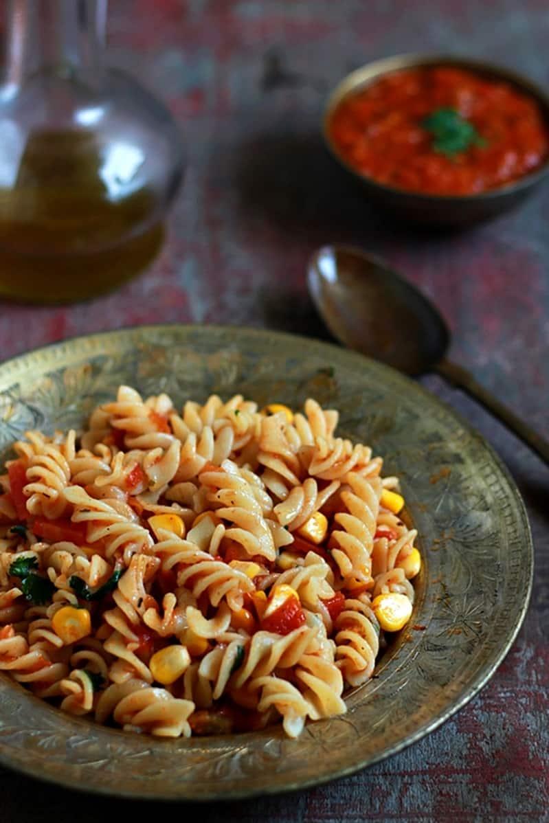 Pasta with marinara sauce recipe