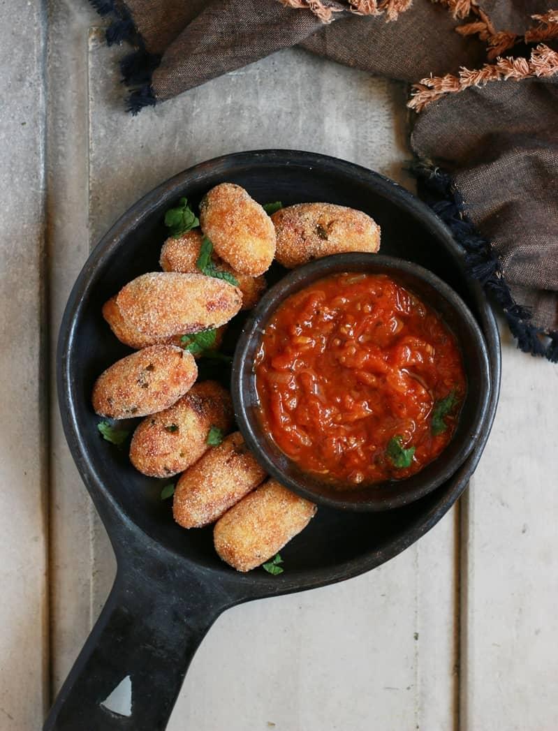 Potato croquettes recipe, potato cheese croquettes recipe