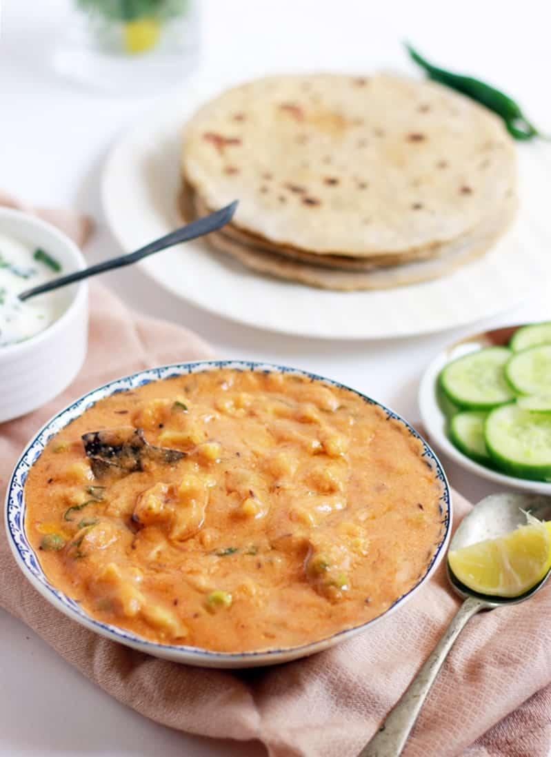 Cauliflower gravy recipe | Cauliflower masala recipe