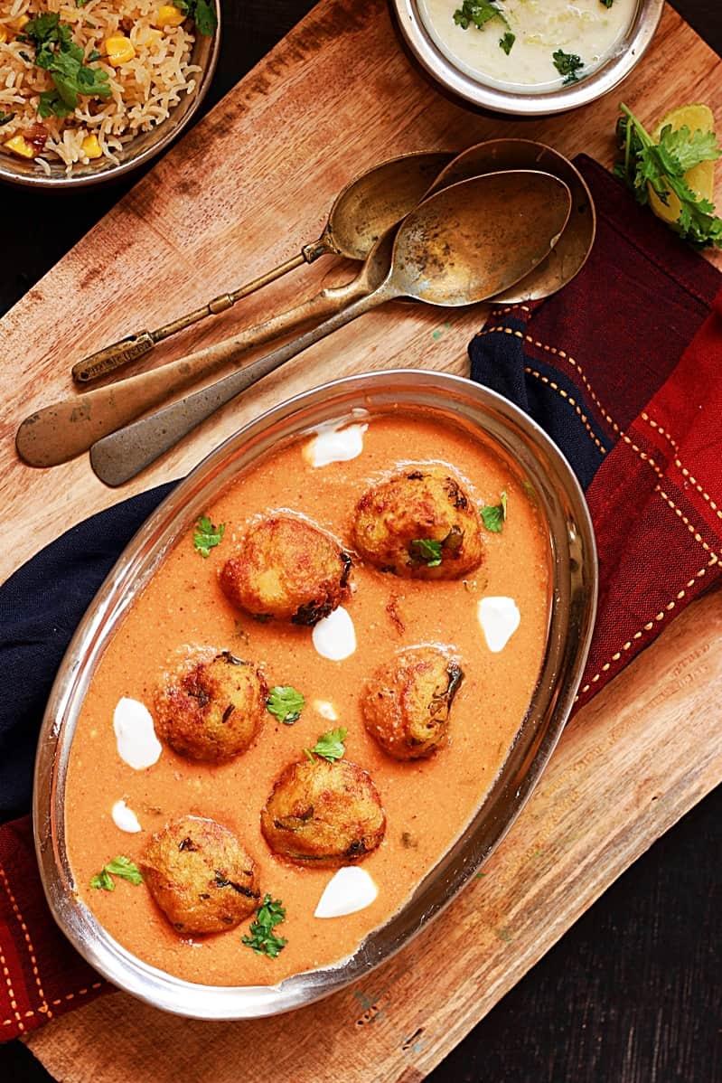 Malai kofta recipe, how to make malai kofta recipe | malai kofta curry recipe