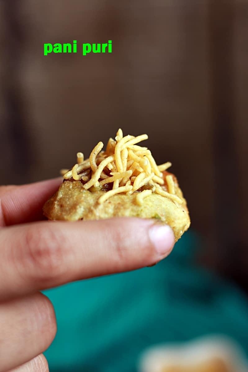 pani puri recipe, how to make pani puri recipe | Golgappa recipe