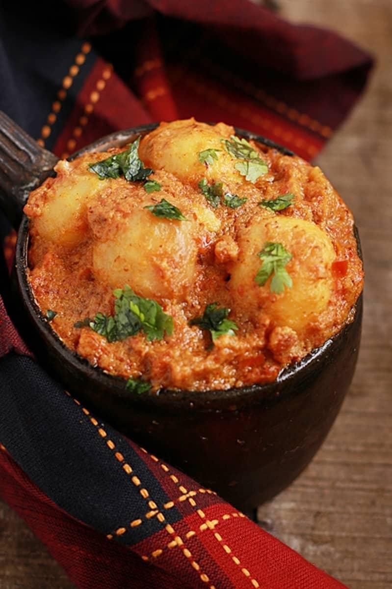Dum aloo recipe Punjabi style | Restaurant style dum aloo recipe