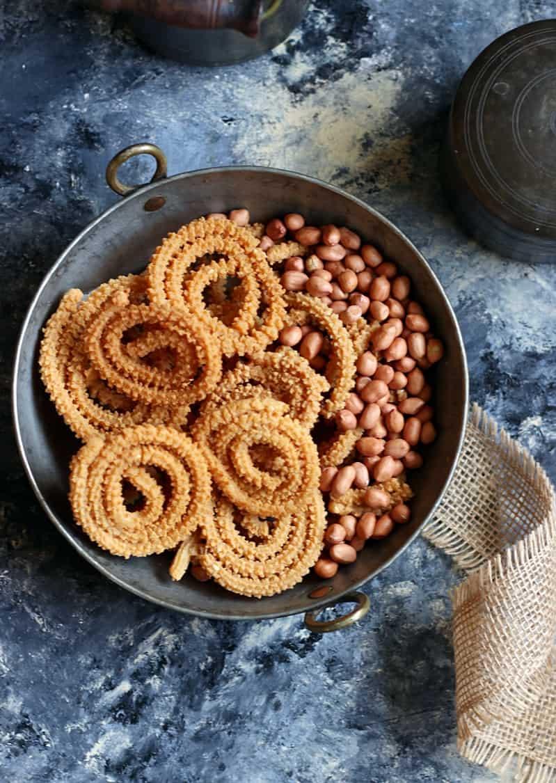 Verkadalai Murukku Recipe Diwali 2016 Snack Recipes
