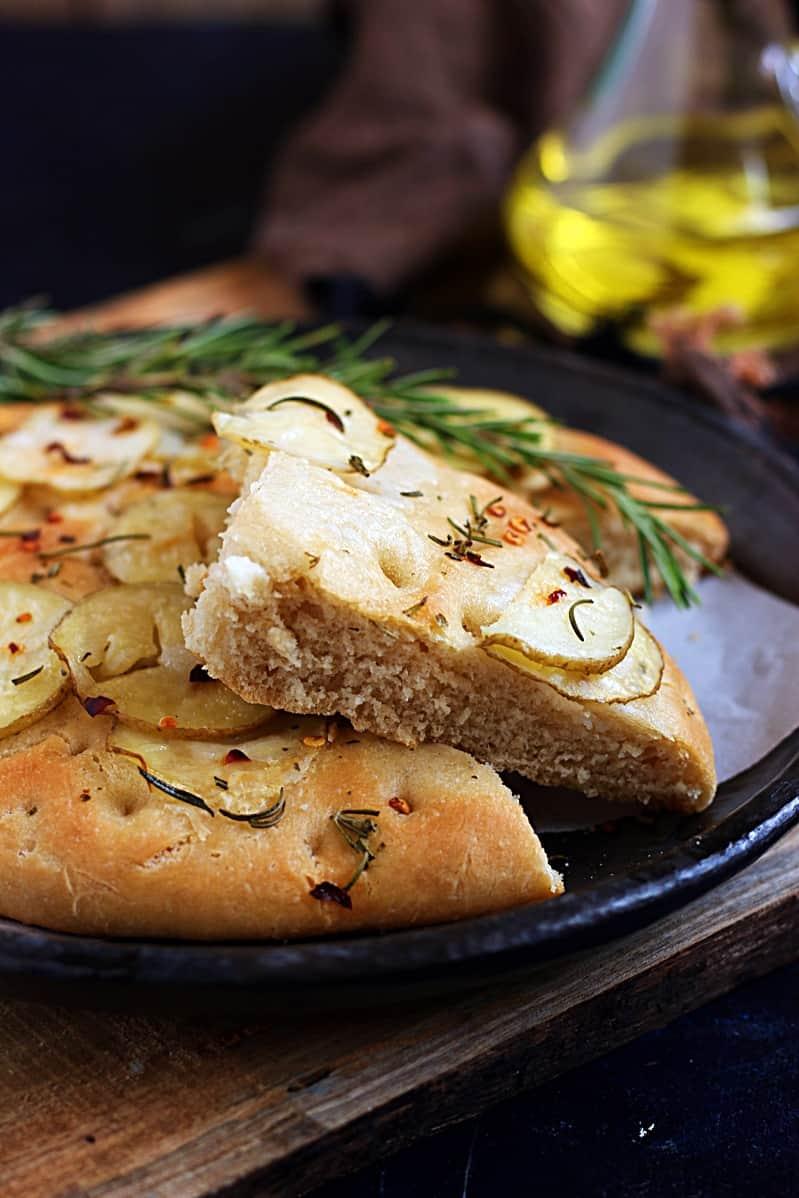 potato rosemary focaccia recipe