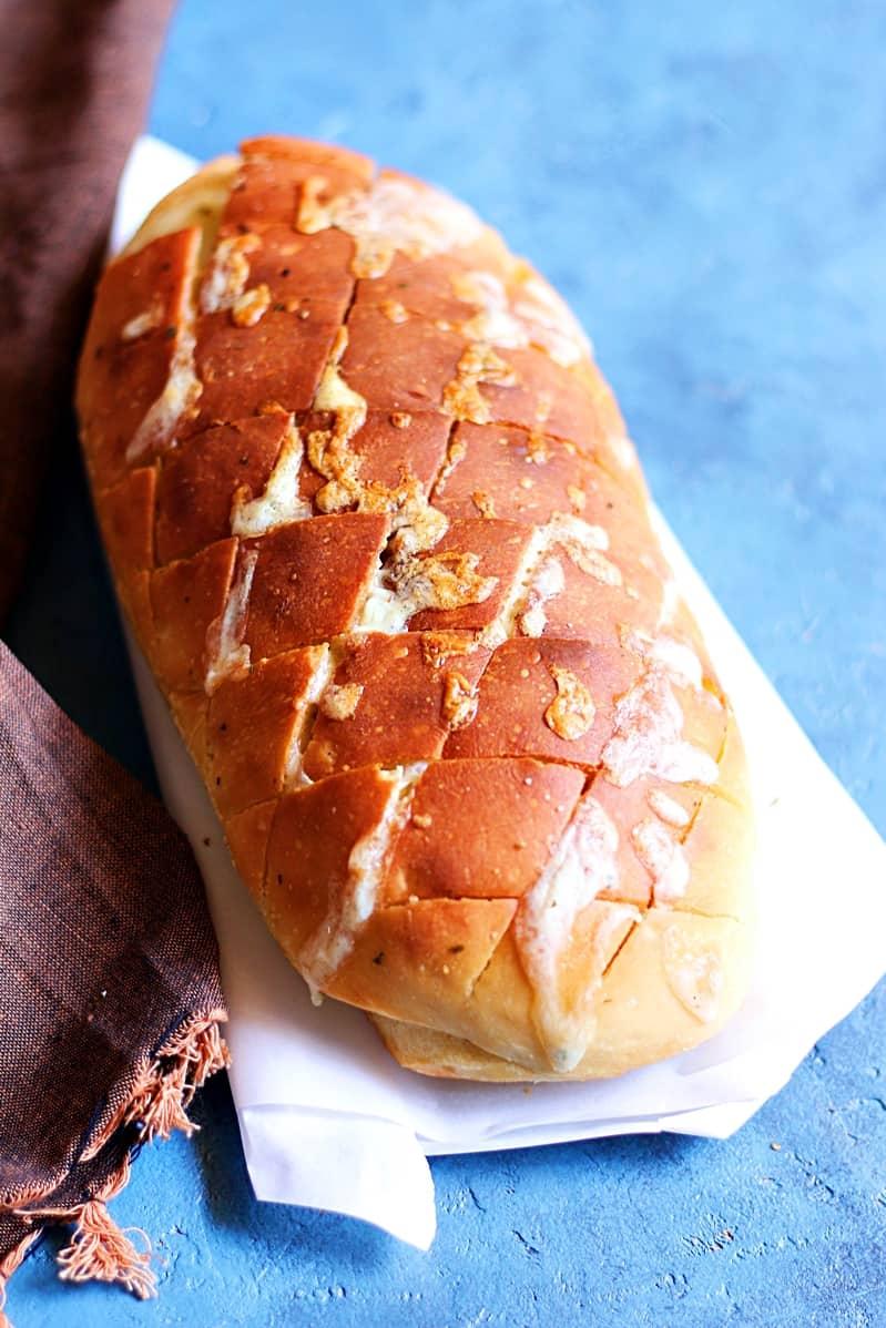 Cheese and garlic crack bread recipe