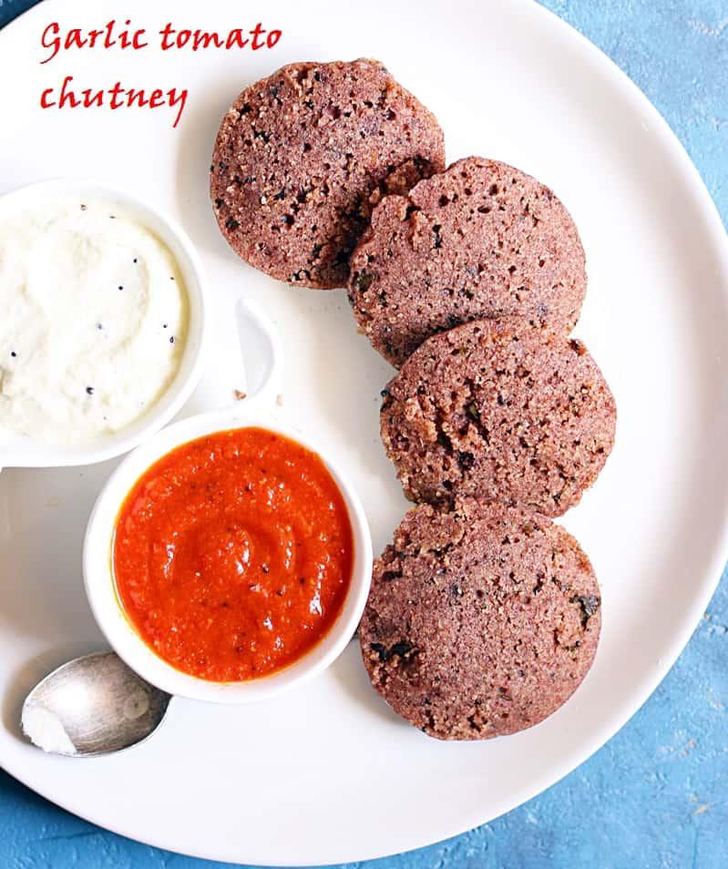 Tomato garlic chutney recipe suitable for travel