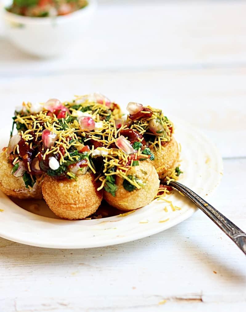 Dahi batata puri recipe