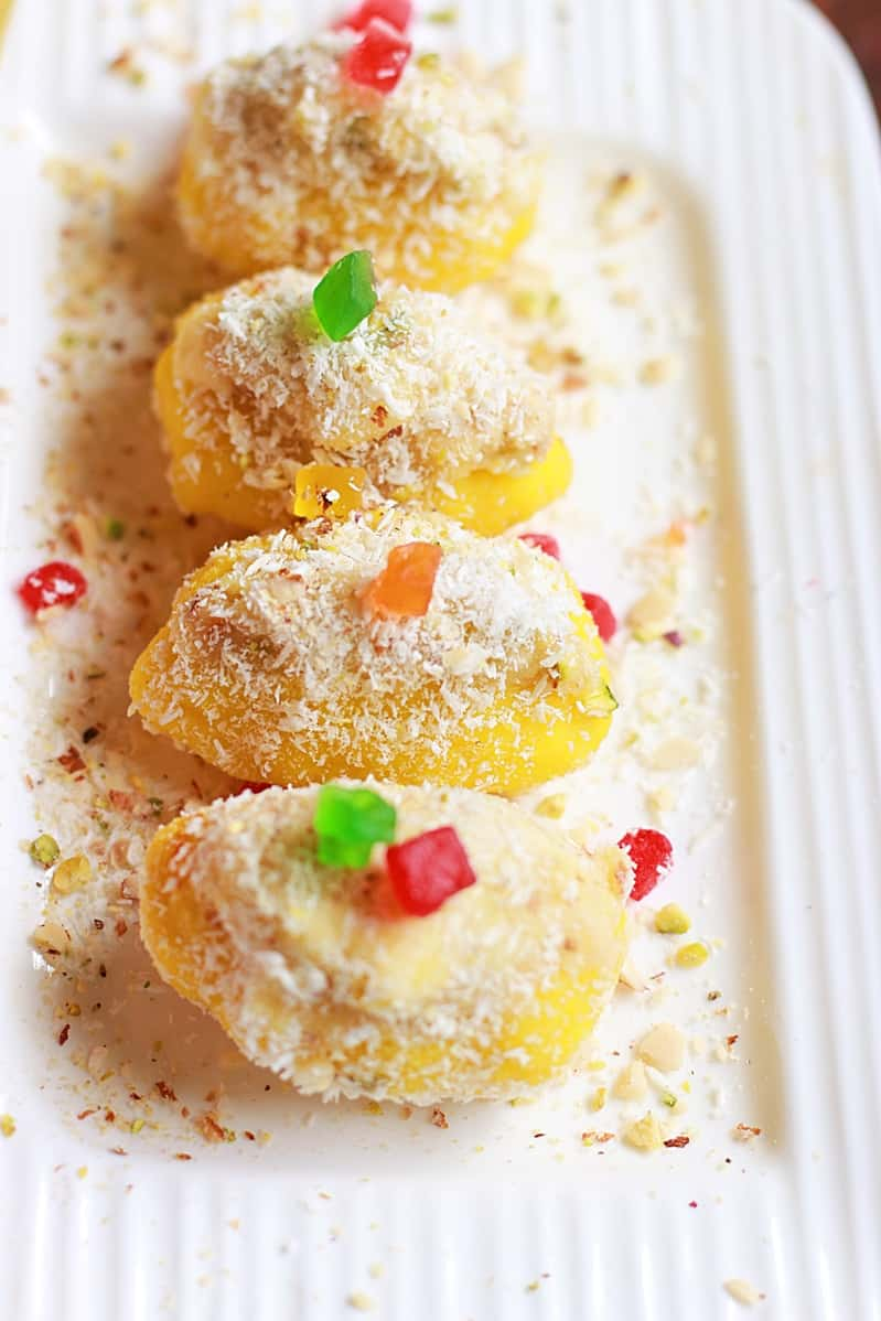 chum chum recipe | Bengali cham cham sweet recipe