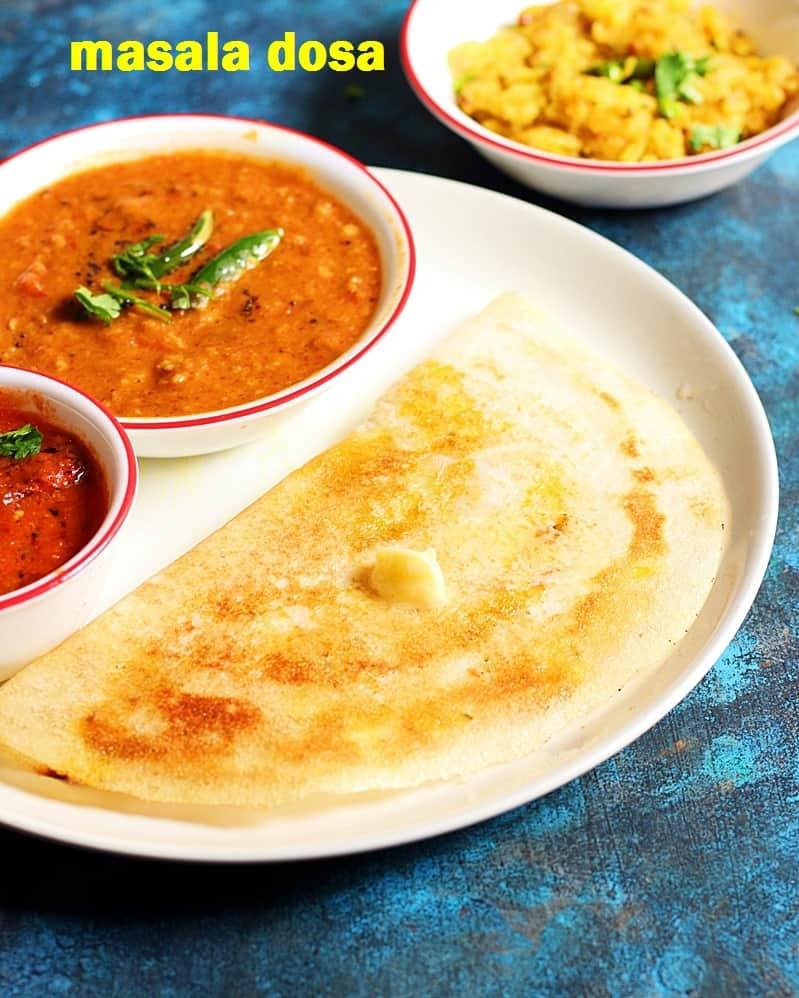 masala dosa recipe | how to make restaurant style masala dosa recipe