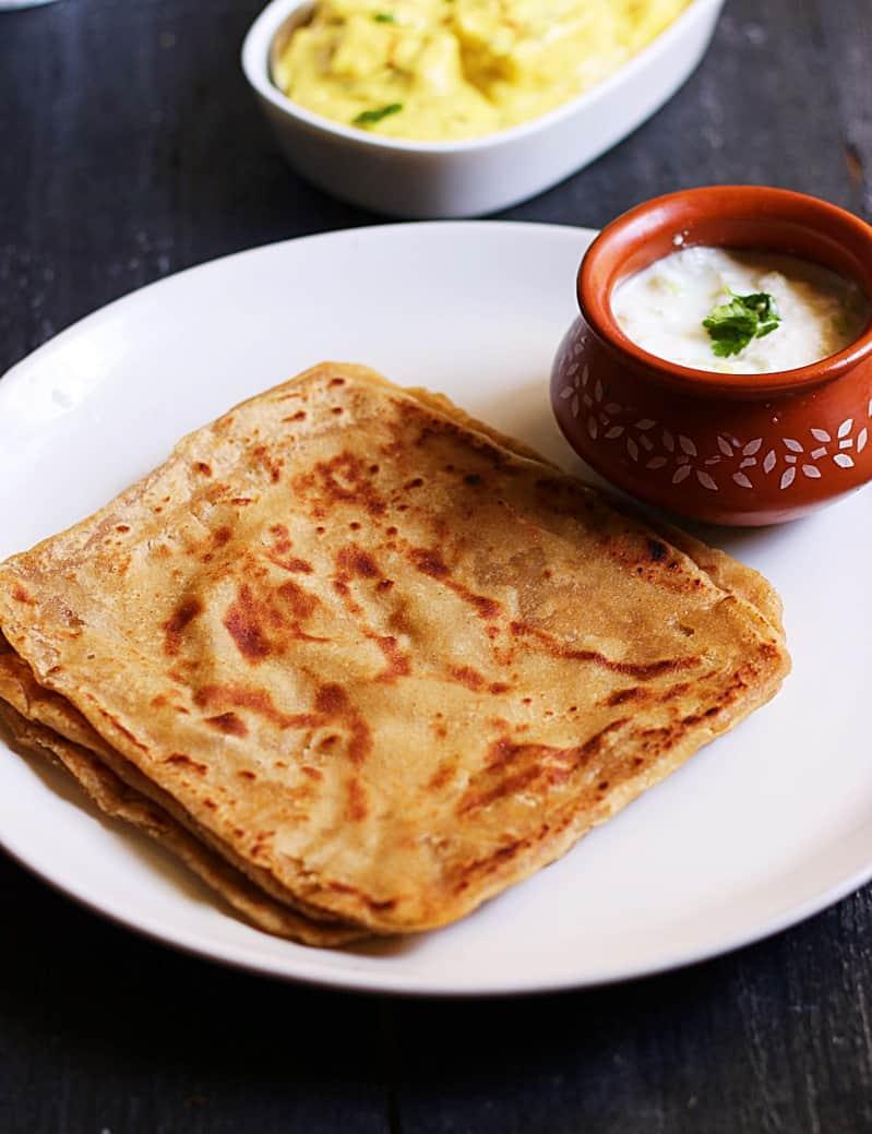 Paratha recipe, plain paratha recipe | how to make plain paratha