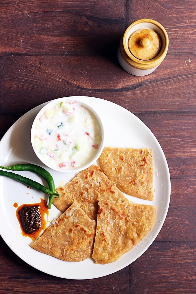 Mooli paratha recipe | How to make mooli paratha | Radish paratha recipe