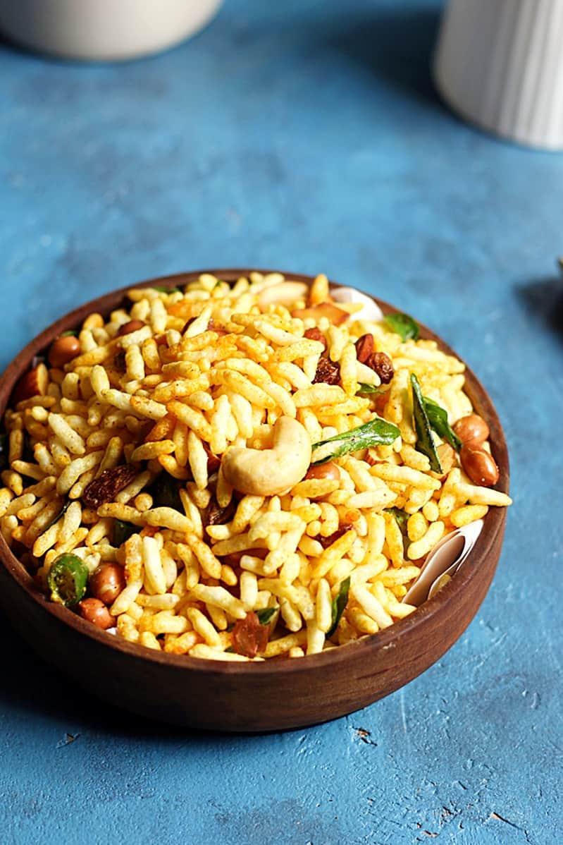 Murmura chivda recipe | Diwali 2017 recipes