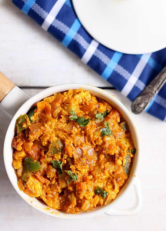 Veg kheema masala recipe | Side dish recipe for roti, dosa