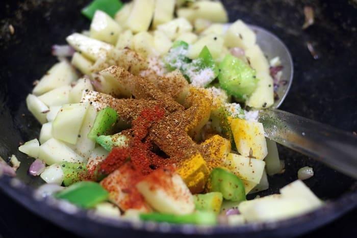 Aloo paneer masala recipe | Dry aloo paneer recipe | easy paneer recipes
