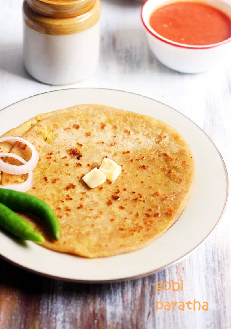 Gobi paratha recipe, how to make punjabi gobi paratha recipe